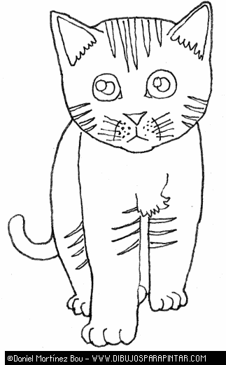 kittens in mittens colouring pages